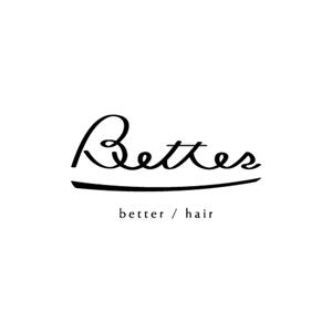 betterという美容院のロゴのお仕事